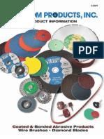 Random Products Bonded Arbasives Catalog