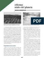 Los problemas ambientales del planeta. Actividades y material didactico