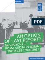 Migration of Roma and Non-Roma from Central and Eastern Europe