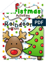 Christmas Activities Reindeer Edition