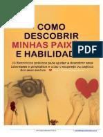 ebook Como Descobrir Minhas Paixões e Habilidades