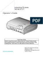 Projector Manual 4536 SCP-717