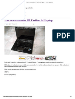 How to Disassemble HP Pavilion Dv2 Laptop __ Inside My Laptop