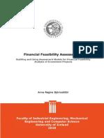 Assess Financial Feasibility