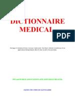 Médecine Dictionnaire de Médecine Cours 4