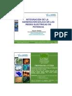 Integracion de La Generacion Eolica en Las Redes Electricas de Potencia