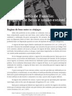 Direito de Família - regime de bens e união estável.pdf