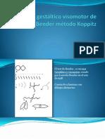 Test guestáltico visomotor de Bender método Koppitz