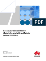 PowerCube 1000 (With an ICC500-HA) Quick Installation Guide (V300R002C00_024 Reusing Existing DG & ATS)