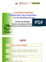 Thermal and Acoustical Insulation Presentation
