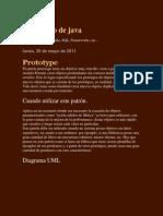 Mi Granito de Java Patrones Parte 1