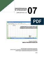 Mengoperasikan Spreadsheet