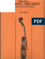 Enzo Porta- Il Violino