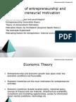 13735208 Theories of Entrepreneurship