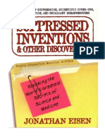 Suppressed Inventions Other Discoveries True Stories of Suppression Scientific Ups Misinformation and Brilliant Breakthroughs 2001