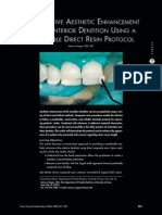 Conservative Aesthetic Enhancement Teeth