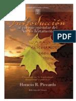 Horacio R. Piccardo - Introduccion Al Cuerpo Epistolar Del NT Tomo 1