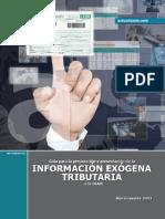 Libro Informacion Exogena 2013