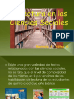 La Lectura en Las Ciencias Sociales