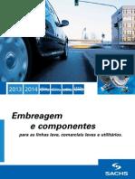 Catlogo Sachs Linha Leve 2013-2014