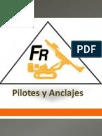 Brochure FR Pilotes, Micropilotes y Anclajes