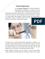 Genetic engineering research paper