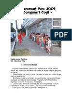 Cantonament Vara 2009 - Compuneri Copii