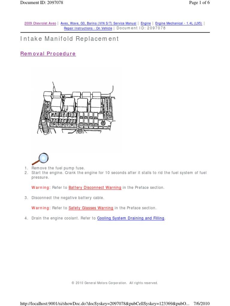 Repair Instructions On Vehicle Throttle Belt Mechanical General Fuel Pressure Diagram