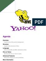 Hive Intro