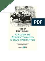 A Aldeia de Stiepantchikov e Seus Habitantes Dostoievsk