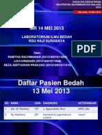 MR 14 MEI 2013 - dr. Erwin