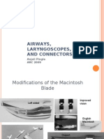 AIRWAYS, LARYNGOSCOPES, NRVS AND CONNECTORS --2