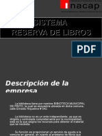 Preproyecto Sistema Web Biblioteca