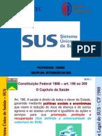 AULA Nº 03- INTRODUÇÃO AO SUS
