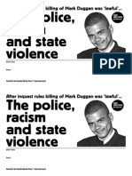 After Mark Duggan Inquest Swp Mtg template