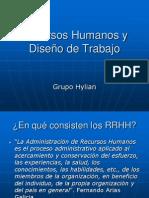 Recursos Humanos y Diseño de Trabajo