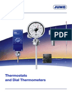 Thermostats and Dial Thermometers