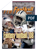 PFW - Vol. 23, Issue 07 (August 04, 2008) Fantasy Football Special