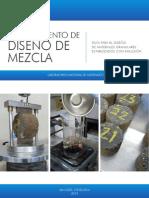 Guía para el diseño de materiales granulares estabilizados con emulsión