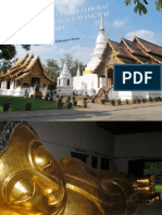 Templo antiguo de Wat Phra Singh, Chiang Mai, Tailandia. Luis Salvador Velásquez Rosas