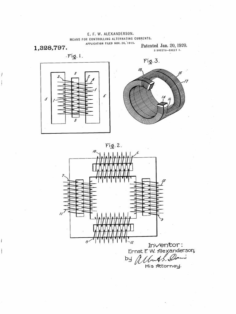 us 1328797 transformer inductance