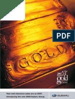 Boulder County Gold 2007