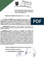 Parececer PN TC 012-2009 - Consulta Procurador Geral do Estado.pdf