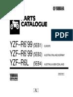 YZF-R6'99 (5EB2)  IMPORTAÇÃO DIRETA