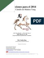 LIBRO - Predicciones para el 2014 - Año del Caballo de Madera Por Carlos Sosa