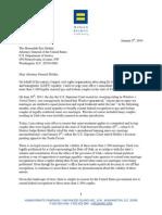 Holder Utah Letter