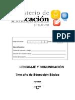 Lenguaj y Comunicacion Para 7mo de EGB
