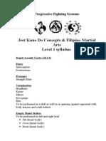 PFS Level 1 Sylabus