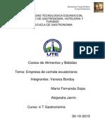 Empresa de Comida Ecuatoriana2[1]