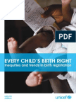 Every Child's Birth Right